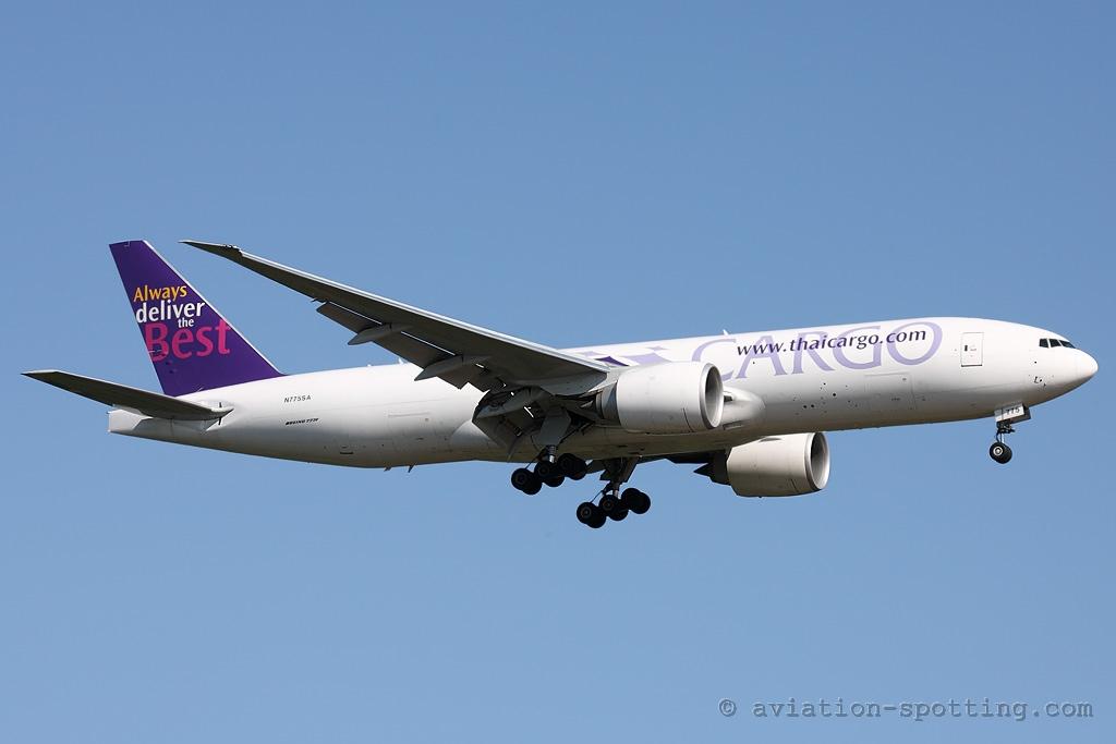 Thai Cargo Boeing 777-200F