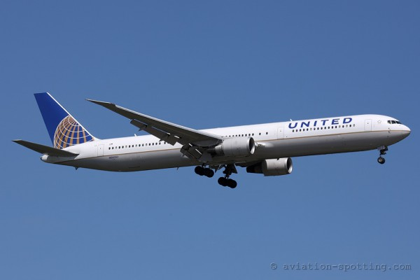 United Airlines Boeing B767-400 (USA)