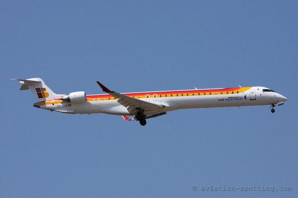 Iberia Regional (Air Nostrum) Bombardier CRJ 1000 (Spain)