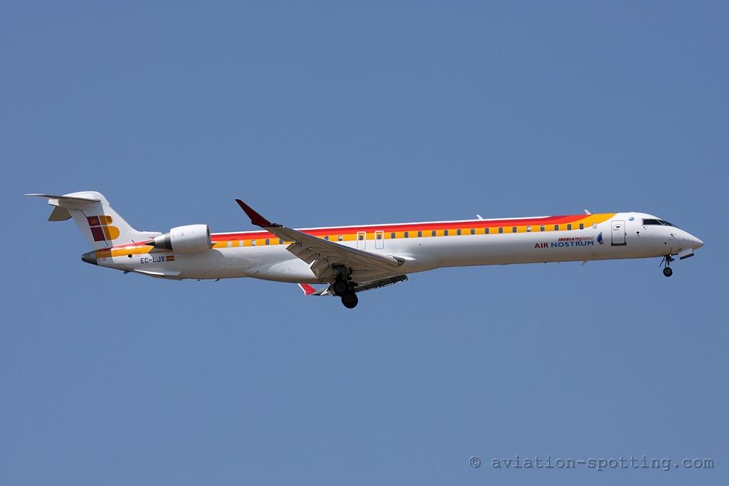 Iberia Regional (Air Nostrum) Bombardier CRJ1000 (Spain)