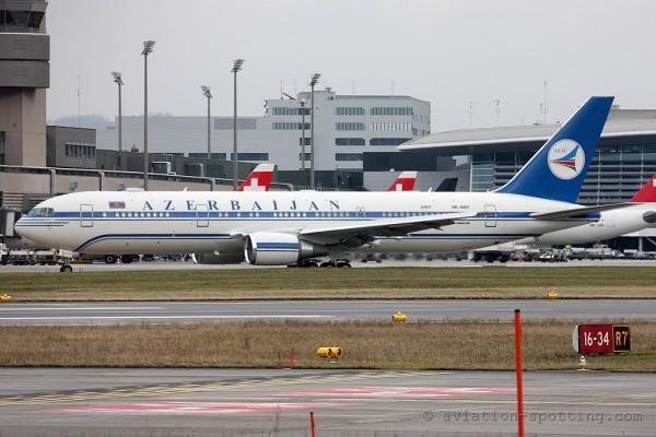 Azerbaijan Airlines Boeing B767-300