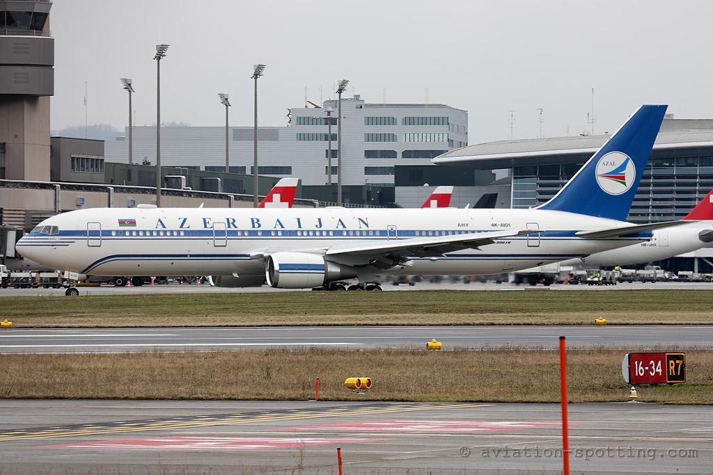 Azerbaijan Airlines Boeing 767-300