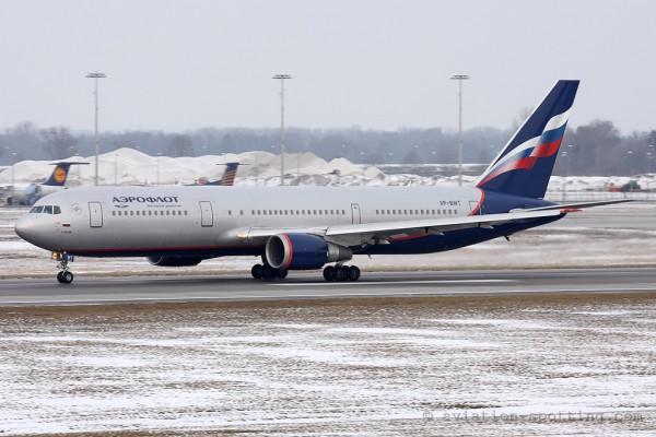 Aeroflot Boeing B767-300 (Russia)