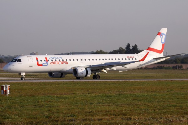 Arkia Airlines Embraer E195 (Israel)