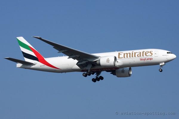Emirates SkyCargo Boeing B777-200F (UAE)