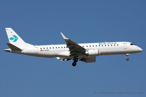 Air Dolomiti Embraer E190 (Italy)