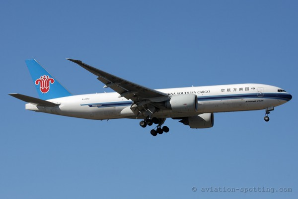 China Southern Cargo Boeing B777-200F
