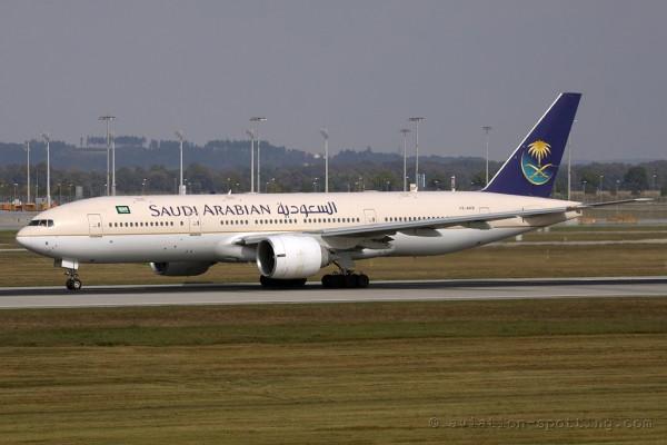 Saudia Boeing B777-200 (Saudi Arabia)