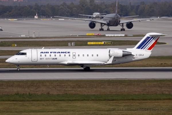 Air France (Britair) Canadair CRJ 100/200