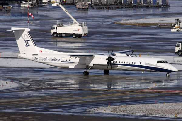 SkyWork Airlines Bombardier Dash 8-Q 400 (Switzerland)