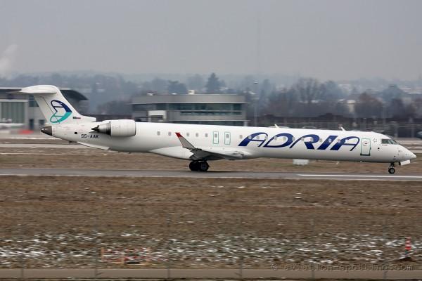 Adria Airways Bombardier CRJ 900 (Slovenia)