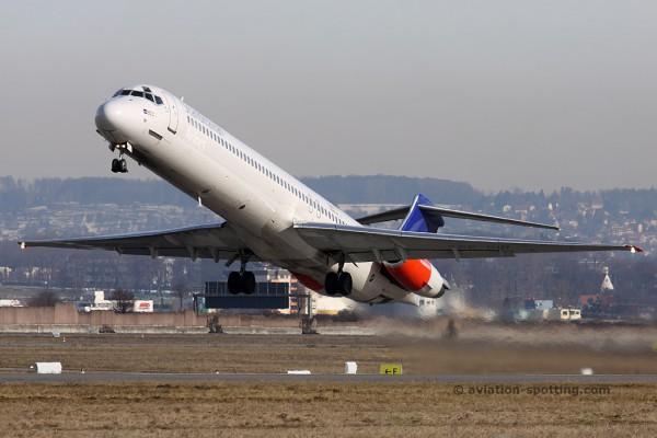 SAS McDonnel Douglas MD 82