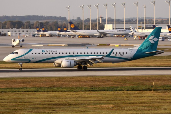 Air Dolomiti Embraer E195 (Italy)
