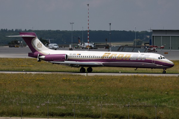 Pronair McDonnel Douglas MD 87 (Spain)