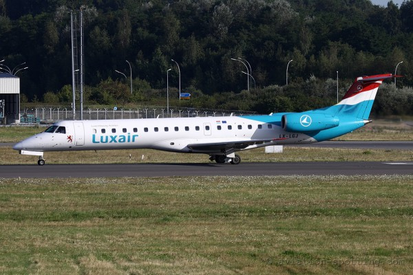 Luxair Embraer ERJ 145 (Luxembourg)