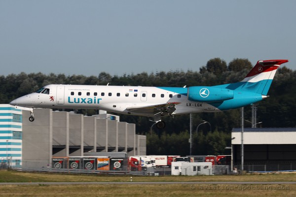 Luxair Embraer ERJ135 (Luxembourg)
