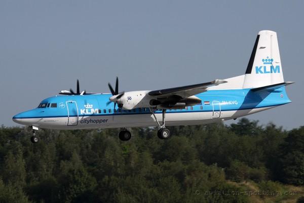 KLM Cityhopper Fokker F27 F50 (Netherlands)