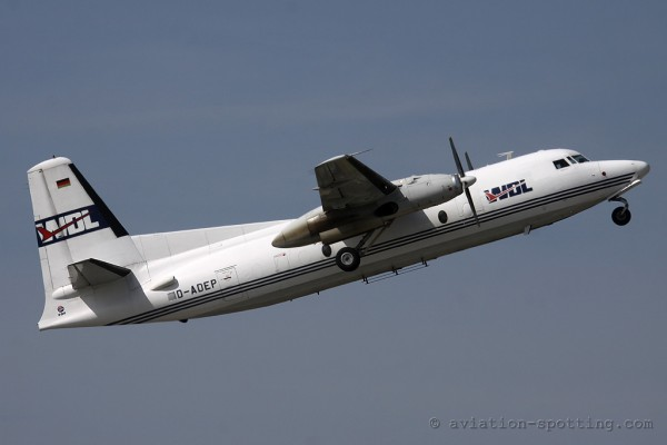 WDL Aviation Fokker F27 F50 (Germany)