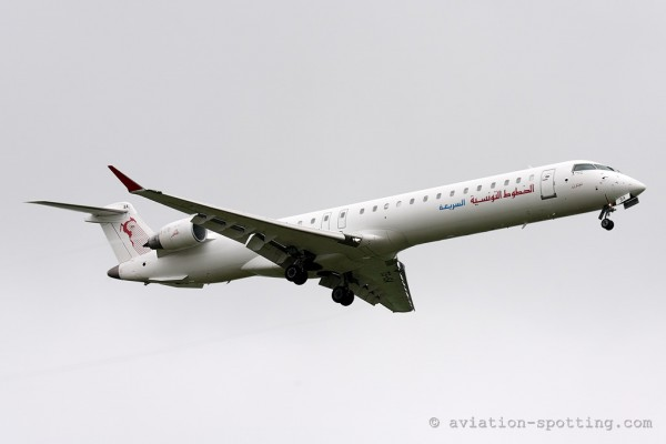 Tunisair Express Bombardier CRJ 900 (Tunisia)