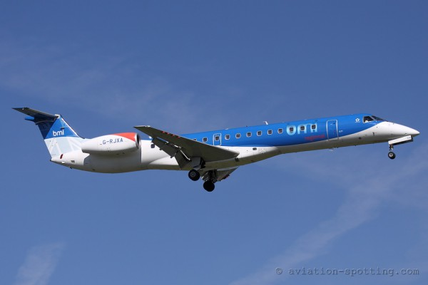 bmi Regional Embraer ERJ 145 (UK)