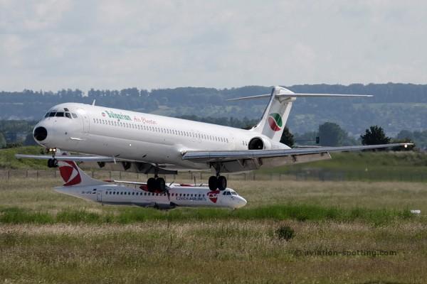 Bulgarian Air Charter McDonnel Douglas MD 82 (Bulgaria)