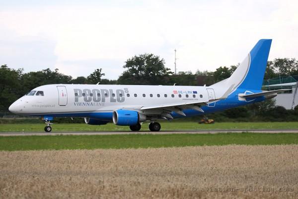 Peoples Viennaline Embraer E170 (Austria)