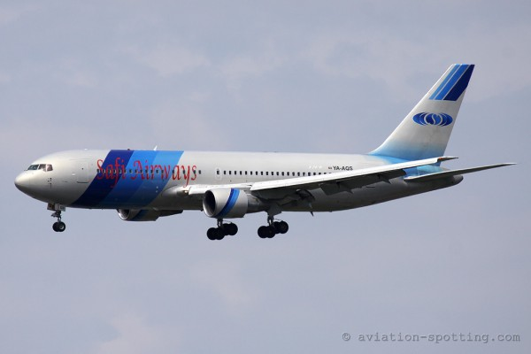 Safi Airways Boeing B767-200 (Afghanistan)