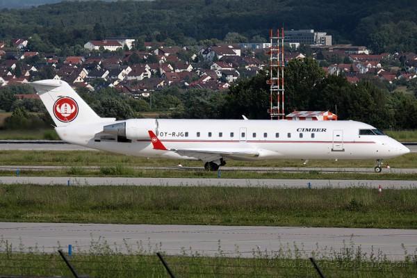 Cimber A/S Canadair CRJ 100/200 (Denmark)