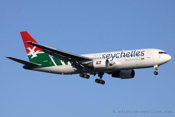 Air Seychelles Boeing B767-200