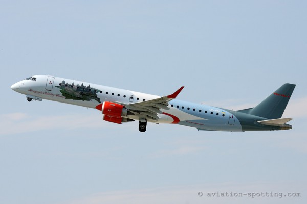 Windrose Airlines Embraer E190 (Ukraine)
