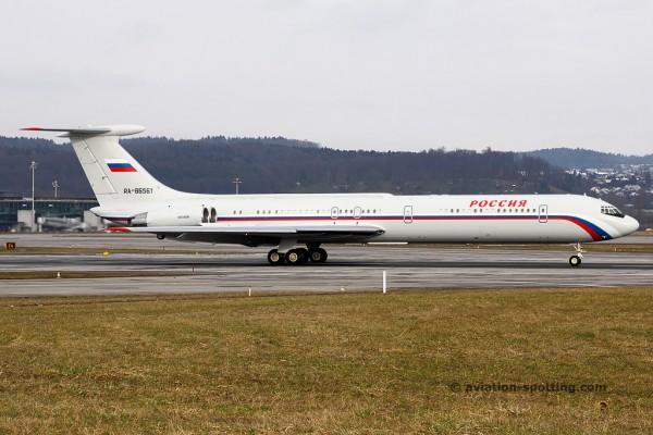 Rossiya – Russian State Transport Ilyushin IL 62