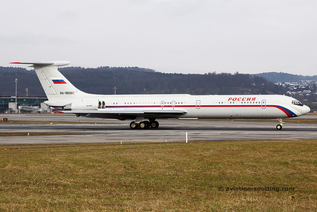 Rossiya – Russian State Transport Ilyushin IL62