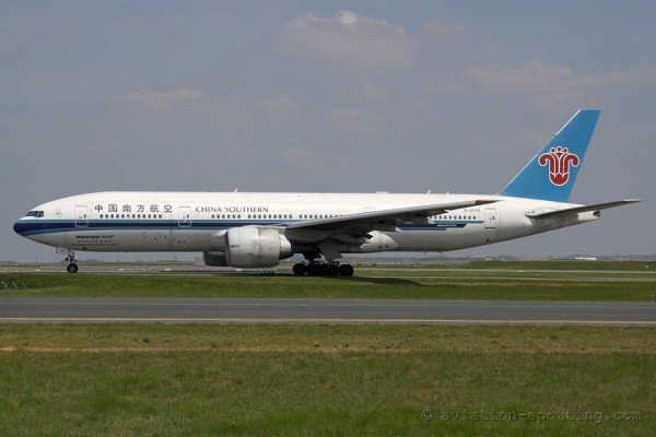 China Southern Airlines Boeing B777-200