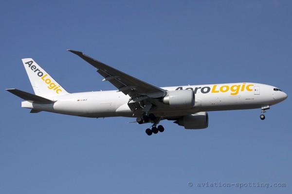 AeroLogic Boeing B777-200F (Germany)