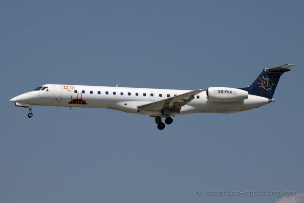City Airline Embraer ERJ 145 (Sweden)