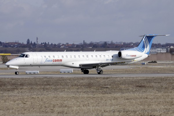 Finncomm Airlines Embraer ERJ 145 (Finland)