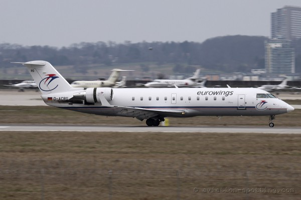 Eurowings Canadair CRJ 100/200 (Germany)