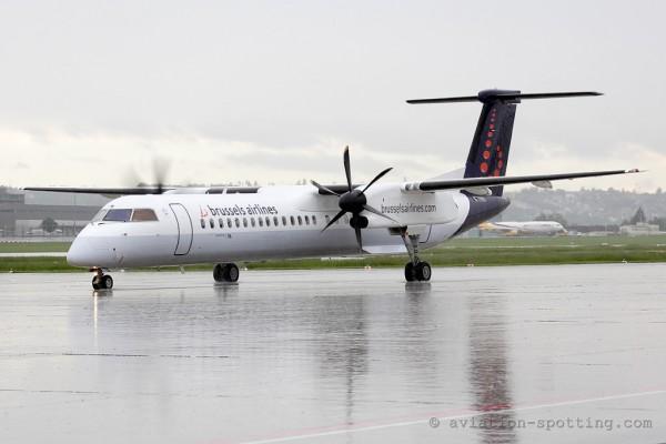Brussels Airlines Bombardier Dash 8-Q 400 (Belgium)