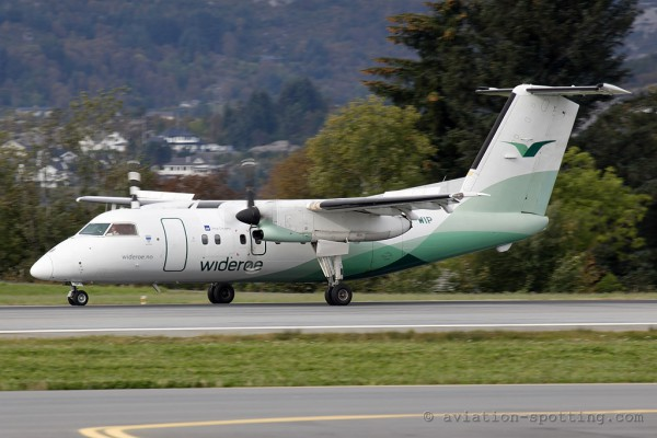 Wideroe's Flyveselskap ASA De Havilland Canada DASH 8-Q 100 (Norway)