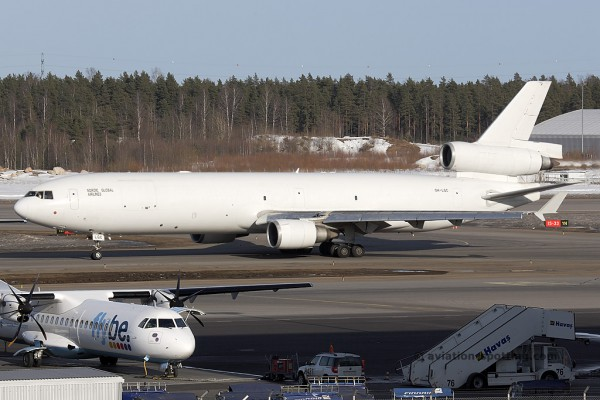 Nordic Global Airlines McDonnel Douglas MD 11 F (Finland)