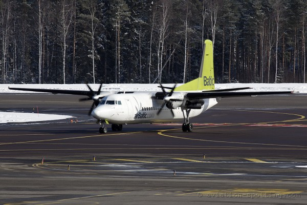Air Baltic Fokker F27 F50 (Latvia)