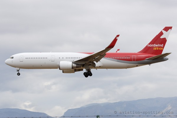 Nordwind Airlines Boeing B767-300 (Russia)