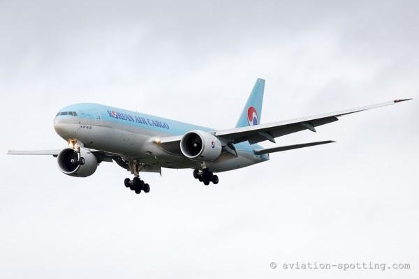 Korean Air Cargo Boeing B777-200F (South Korea)
