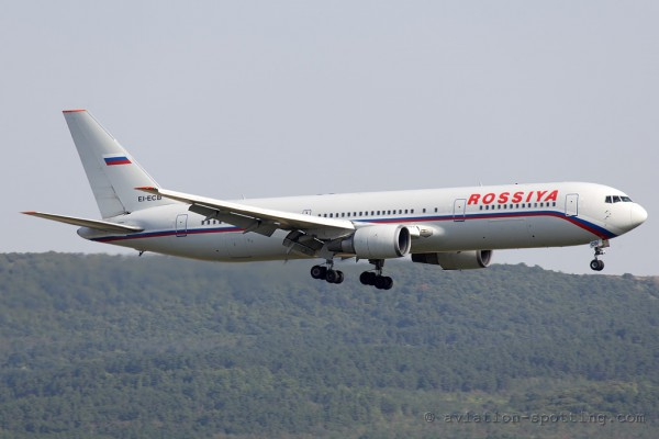 Rossiya Boeing B767-300 (Russia)