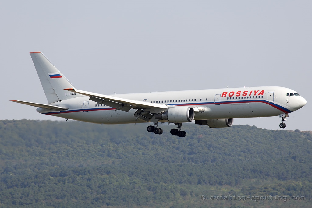 Rossiya Airlines Boeing 767-300 (Russia)