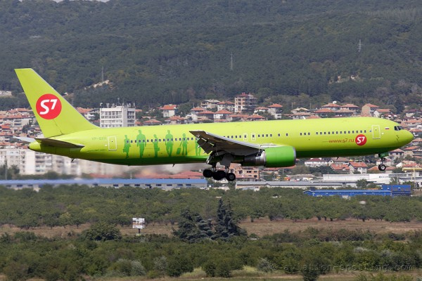 S7 Airlines Boeing B767-300 (Russia)
