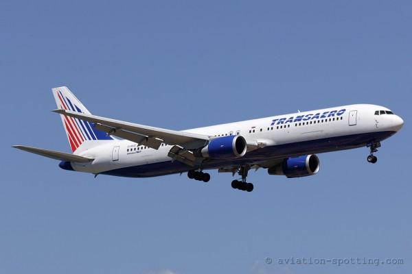 Transaero Airlines Boeing B767-300 (Russia)