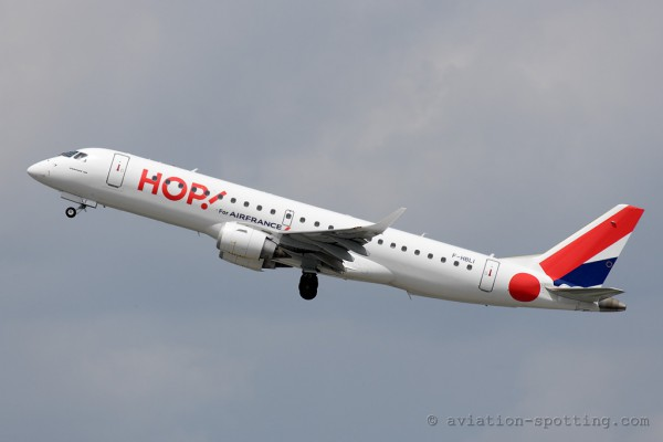 HOP! Embraer E190 (France)