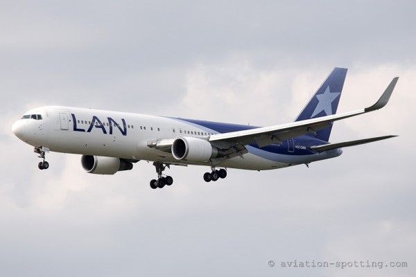LAN Airlines S.A. Boeing B767-300 (Chile)