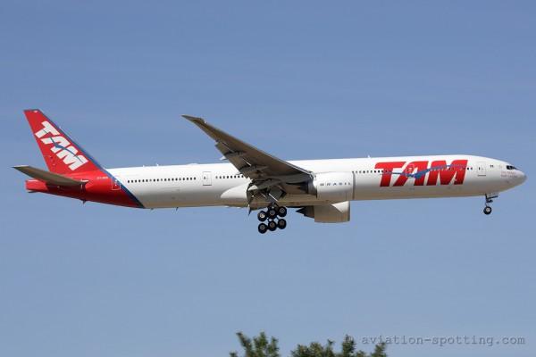 Tam Linhas Aereas Boeing B777-300 (Brazil)